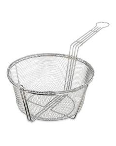 "Carlisle 601001 9-3/4"" dia Mesh Fryer Basket - Chrome-plated"