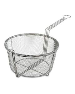 "Carlisle 601002 11-1/2"" dia Mesh Fryer Basket - Chrome-plated"
