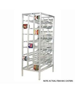 Channel CSR-156M Front-Load Mobile Can Rack - 162 #10 Cans