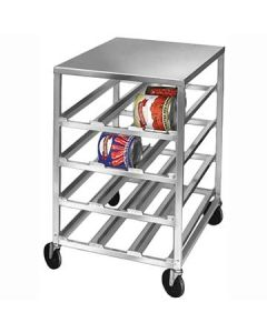 Channel CSR-4M Half-Size Mobile Alum Can Rack - 72 #10 Cans