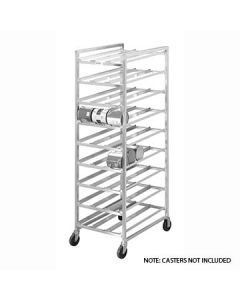 Channel CSR-9 Full-Size Aluminum Can Rack - 162 #10 Can Cap