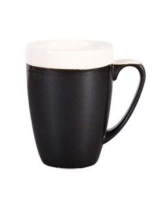 Churchill MOBKVM121 Monochrome Onyx Black 12 oz Mug