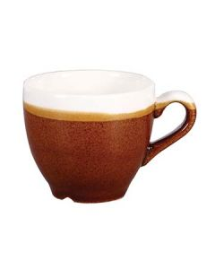 Churchill MOBRCEB91 Monochrome Cinnamon Brown 3-1/2 oz Espresso Cup