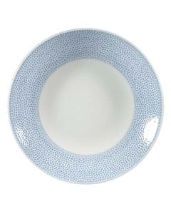 "Churchill OCISID251 Isla Spinwash 10"" Ocean Blue Coupe Plate"