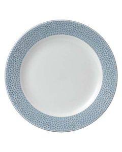 "Churchill OCISIF9 1 Isla Spinwash 9-1/8"" Ocean Blue Footed Plate"
