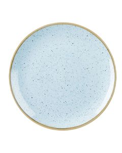 "Churchill SDESEVP81 Stonecast 8-2/3"" Coupe Plate - Duck Egg Blue"