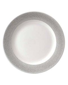 """Churchill SHISIF101 Isla Spinwash 10-1/4"""" Shale Gray Footed Plate"""