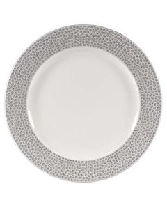 "Churchill SHISIP121 Isla Spinwash 12"" Shale Gray Presentation Plate"