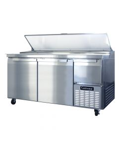 """Continental (CPA68) 68"""" Two-Section Pizza Prep Table"""