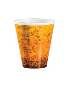 Dart 12U16ESC Fusion Escape Design 12 oz Foam Hot Beverage Cups