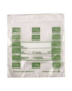 "DayMark 112382 DayBag 6.5""x7"" Friday Portion Bags- 2000/Box"