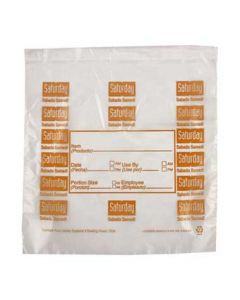 "DayMark 112383 DayBag 6.5""x7"" Saturday Portion Bags- 2000/Box"