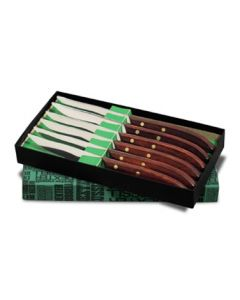 "Dexter Russell 965SC-6P(18231) Traditional 4"" Table Steak Knife Set In Gift Box, 6pc"