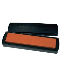 """Dexter Russell (07945) Traditional Edge-14 Crystolon/India Benchstone, 11-1/2"""" x 2-1/2"""" x 1"""", includes non-slip case"""