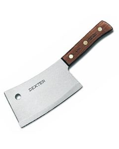 "Dexter Russell S5287 Traditional 7"" Heavy-Duty Cleaver (08220)"
