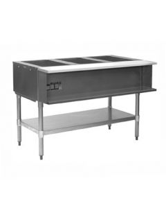 Eagle 3-Well Water Bath Hot Food Table Natural Gas