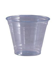 Empress Products EPET09 9 oz Clear PET Plastic Cup