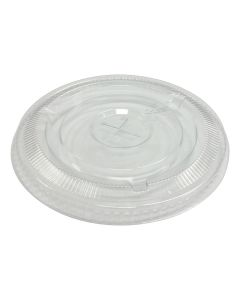 Empress Products EPETFL12S PET Slotted Cup Lid For EPET24 Cups