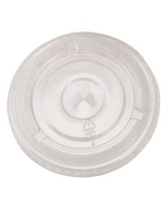 Empress Products EPETFL12T PET Slotted Cup Lid For EPET12 Cups