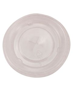 Empress Products EPETFL8 PET Slotted Cup Lid for EPET10 Cups
