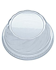Fabri-Kal DLDE16/24NH Indulge Clear Plastic Swirl Dome Lid (Currently out of Stock)