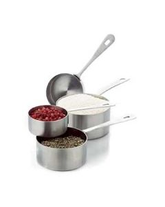 Focus 864 Professional 4 Piece Stainless Steel Measuring Cups
