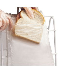"FoodHandler 20-77 7"" x 7"" Low Density Sandwich Bags - 2000 per case"