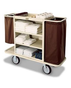 Forbes 2104 Steel Housekeeping Cart