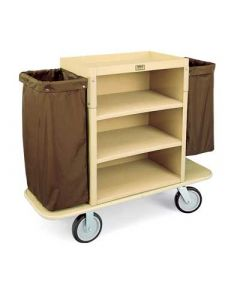 Forbes 2193-36 Plastic Housekeeping Cart