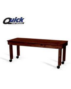 Forbes 7010-MH Mahogany Deluxe Catering Table -7 feet