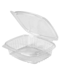 Genpak AD08 8 oz Clear Hinged-Lid To-Go Container (Currently Unavailable)