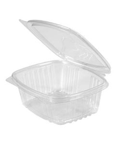 Genpak AD12 12 oz Clear Hinged-Lid To-Go Container(Currently out of Stock)