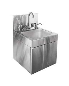 "Glastender WDH-14 14"" Wall-Mounted Hand Sink"