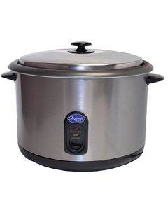 Globe RC1 Commercial Rice Cooker/Warmer - 25 Cup