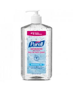 GOJO 3023-12 Purell Advanced Instant Hand Sanitizer Gel Pump - 20 floz (Currently Out of Stock)