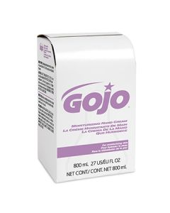 GOJO 9142-12 Moisturizing Hand Cream Refill - 800mL (Currently Out of Stock)