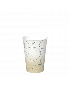 Graphic Packaging DMR-16-CHAMP 16 Oz. Double Sided Poly Paper Cold Cup