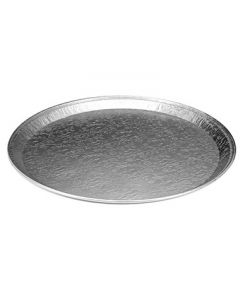 "Handi-Foil 2013-100-25 16"" Embossed Round Serving Tray"