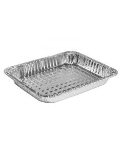 Handi-Foil 320-40-100 1/2 Size Foil Steam Table Pan - Shallow