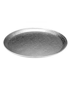 "Handi-Foil 4013-80-25 12"" Embossed Round Serving Tray"