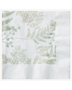 Hoffmaster 057301 Earth Wise Nature's Green Beverage Cocktail Napkin - 2 Ply