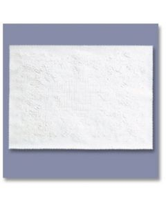Hoffmaster 310469 Dubonnet Straight Edge White Paper Placemat