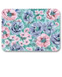 """Hoffmaster 426271 Whispering Floral Traymat, 13-5/8"""" x 18-3/4"""""""