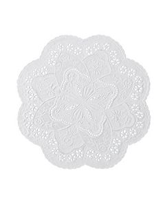 """Hoffmaster 500534 10"""" French Lace Paper Doilies"""