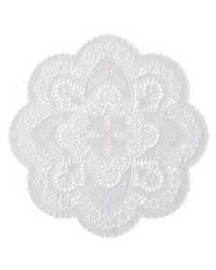 """Hoffmaster 500535 12"""" French Lace Paper Doilies"""