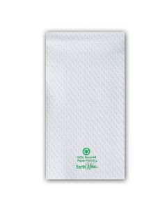 Hoffmaster 856300 Embossed Earth Wise Recycled Paper Guest Towels - 2 Ply