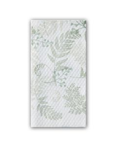 Hoffmaster 856301 Nature's Green Earth Wise Recycled Guest Towels