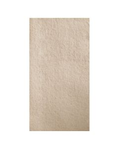 Hoffmaster 856787 Linen-Like Natural Guest Towel