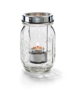 Hollowick 1610C Firefly Jar Candle And Tealight Lamp