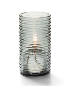 "Hollowick 42517S Typhoon Spun Glass 5""H  Candle And Tealight Holder"
